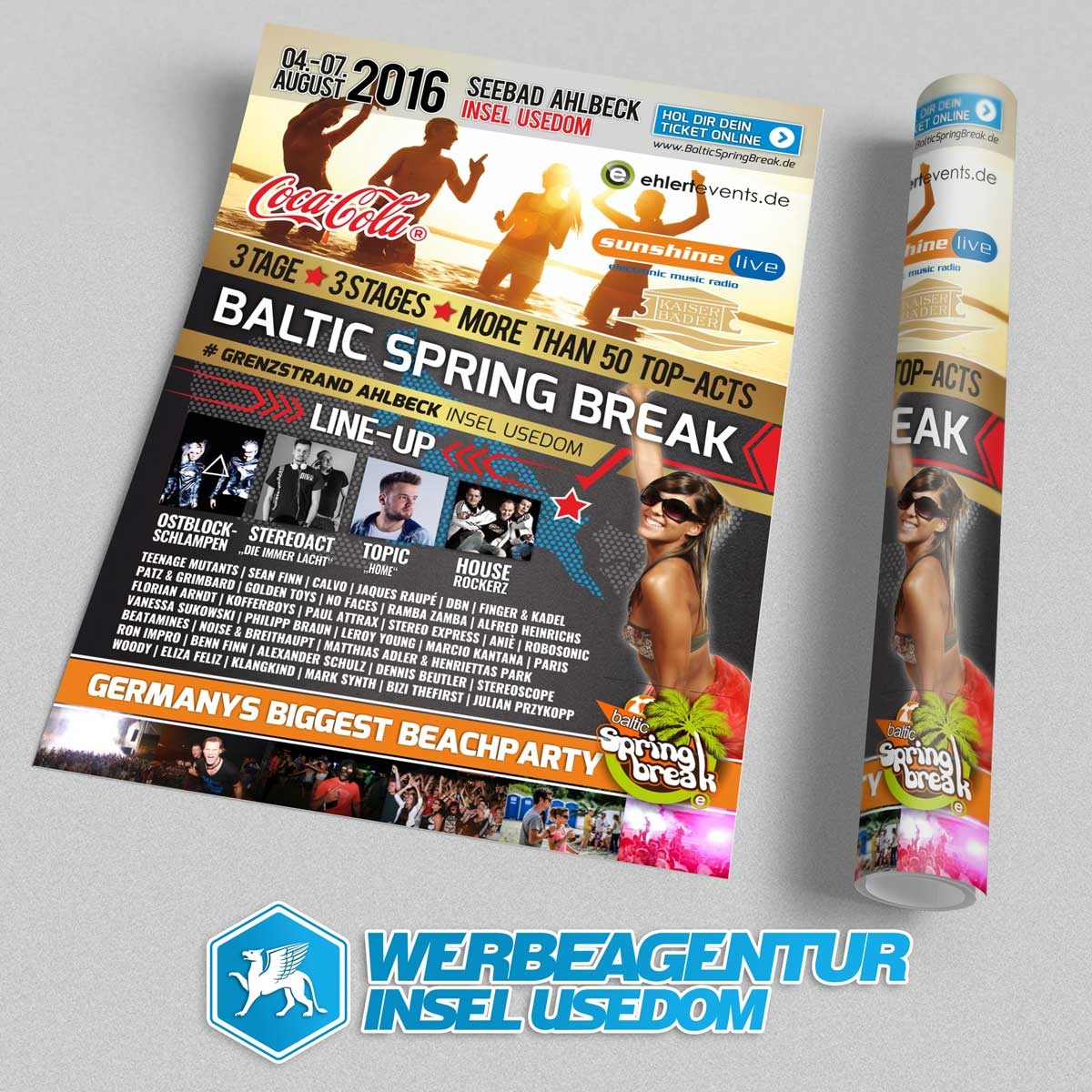 Plakat Baltic Spring Break 2016