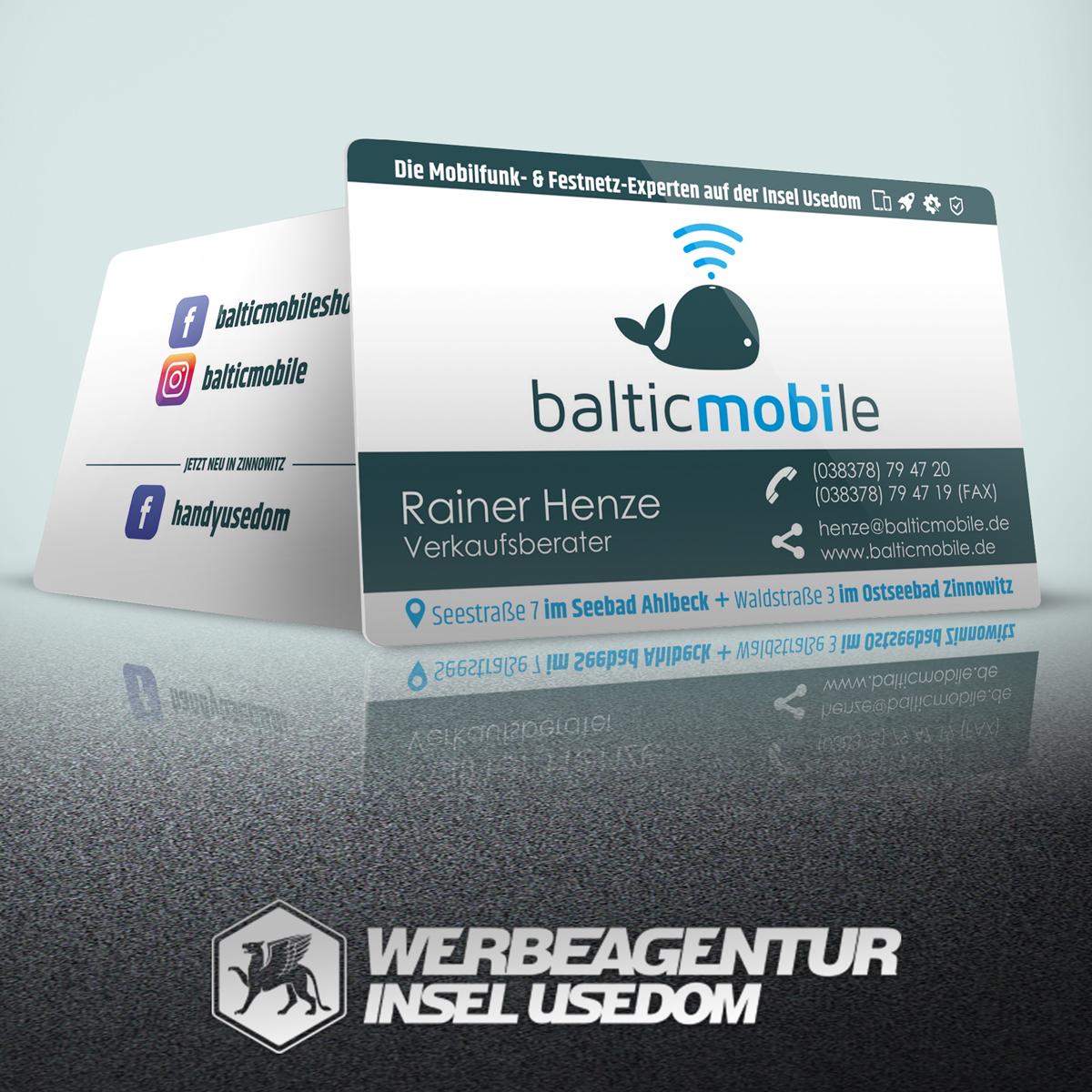 Visitenkarten balticmobile