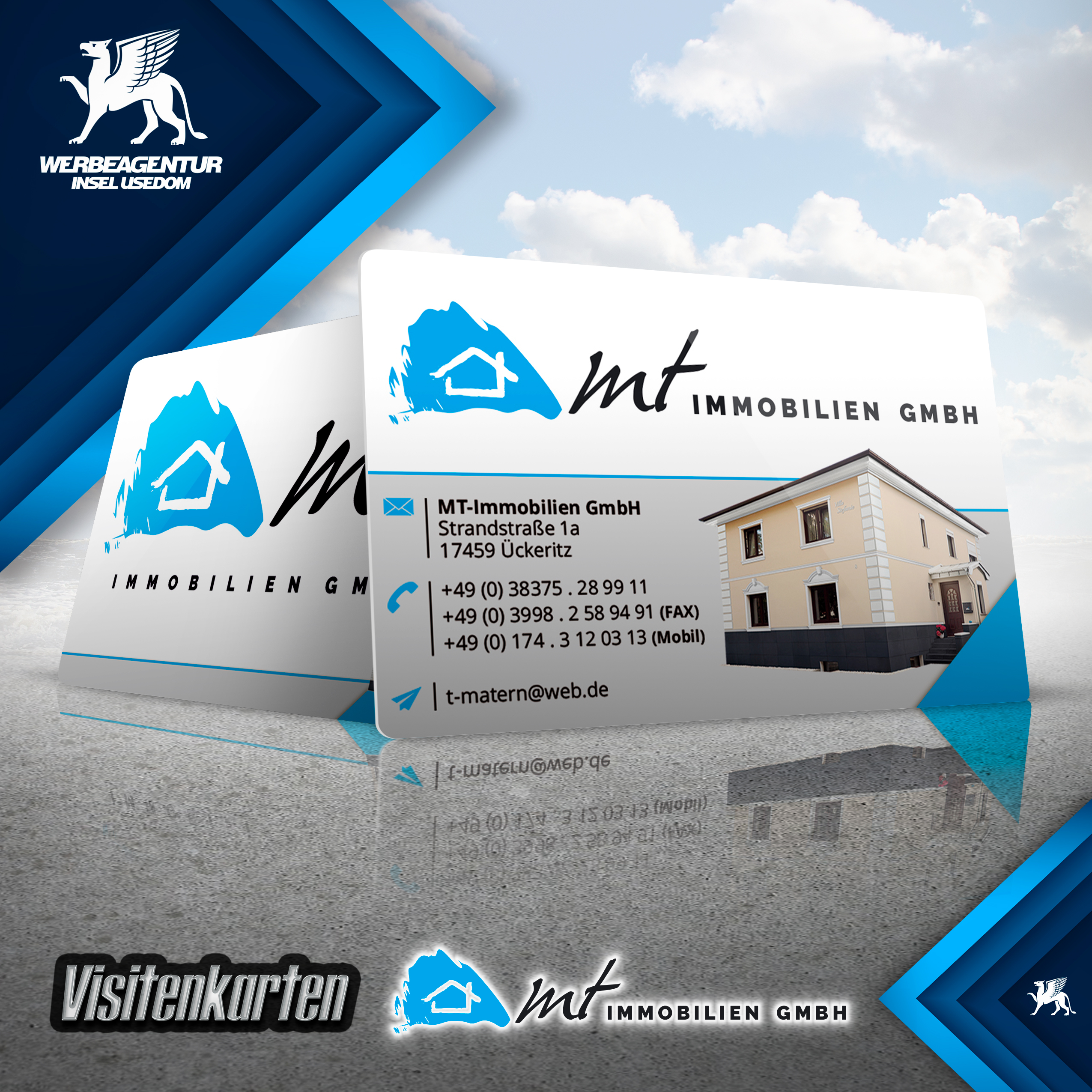 Visitenkarten MT Immobilien GmbH